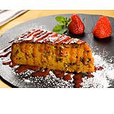 Dessert, Piece Of Cake, Carrot Pie