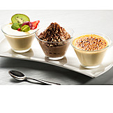 Dessert, Chocolate, Vanilla, Pudding, Caramel, Crème Caramel