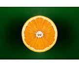 Orange, Flesh