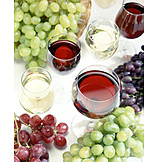 Wein, Rotwein, Weißwein