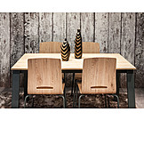 Modern, Dining table, Chairs