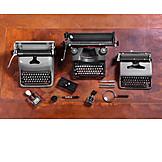Office, Retro, Mechanical, Typewriter
