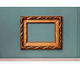 Gilded, Frame, Picture frame