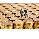 Euro, Economy, Handshake, Contract