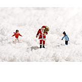Weihnachten, Weihnachtsmann, Kinder, Geschenke
