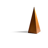Wood, Shadow, Triangle