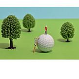 Golf, Golf Course, Golf Ball