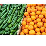 Orange, Zucchini