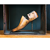 Wood, Artificial Model, Shoemaker, Last, Shoemaker