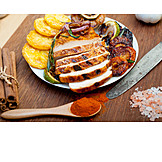 Barbecue, Chicken, Grilled Vegetables