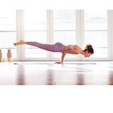 Balance, Yoga, Chaturanga dandasana