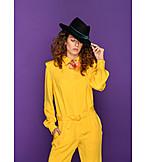 Fashion, Style, Trouser Suit, 80s