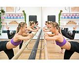 Gymnastics, Balett, Gym, Workout