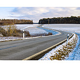 Winter, Road