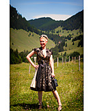 Dirndl, National costume, Traditional clothing