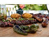 Barbeque, Steak, Barbecue