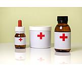 Pharmacy, Medicine Bottle, Medecine Chest