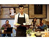 Gastronomy, Serve, Waiter