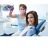 Smiling, Patient, Dentist