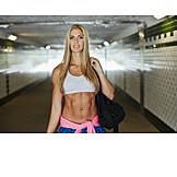 Woman, Sportswear, Urban, Athletic
