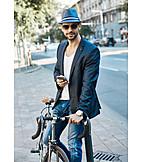 Bicycle, Urban, Mobil, Hipster