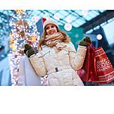 Christmas, Winter clothing, Christmas shopping