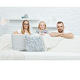Child, Parent, Happy, Family, Family Portrait