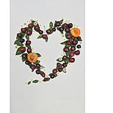 Fruit, Heart, Decoration