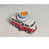 Coffee, Travel, Bus