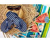 Summer, Summer Vacation, Flip-flops