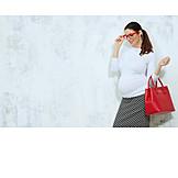 Woman, Fashion, Pregnant