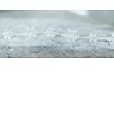 Winter, Snow, Ice Crystals