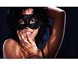 Woman, Party, Sexy, Mask, Seductive, Portrait