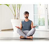 Silence, Meditating, Yoga, Meditate