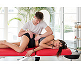 Treatment, Patient, Physiotherapy, Osteopathy