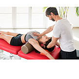 Treatment, Physiotherapy, Back Bending