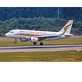 Airplane, Commercial Airplane, Tibet Airlines