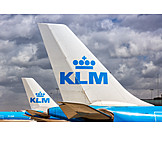 Airplane, Airline, Klm Royal Dutch Airlines