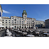 Town hall, Trieste