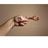 Direction, Finger, Showing