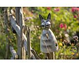 Cat, Garden Decoration